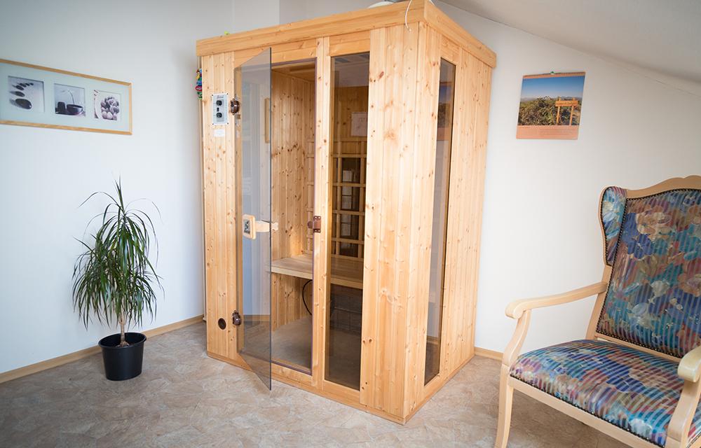 Bio-Sauna in der Gesundheitsakademie Dr. Albrecht