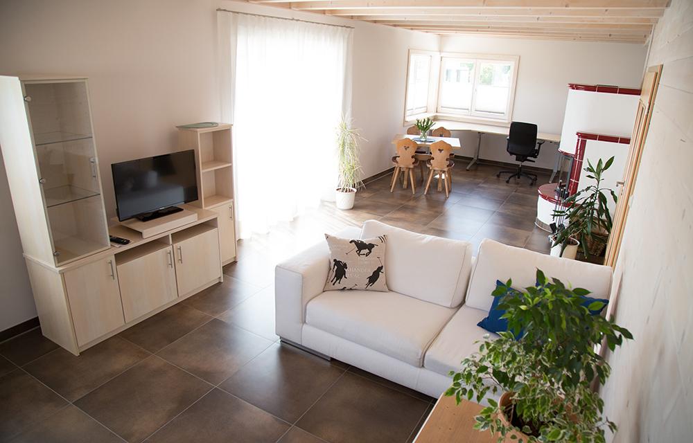 Wohnesszimmer Exklusiv Apartment in der Gesundheitsakademie Dr. Albrecht