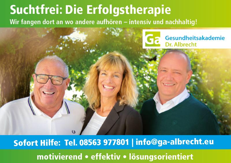Gesundheitsakademie Dr. Albrecht in Bad Birnbach – Neustart Oase