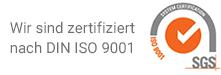 Gesundheitsakademie Dr. Albrecht zertifiziert nach DIN ISO 9001